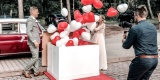 Balonowy prezent, balony z helem, balony led, napis L O V E, Bydgoszcz - zdjęcie 4