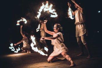 Teatr Ognia Mantiora, Teatr ognia Ujazd
