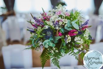 Dekoracje, kwiaty. Pracownia Florystyczna Marzena Struska, Dekoracje ślubne Poniatowa