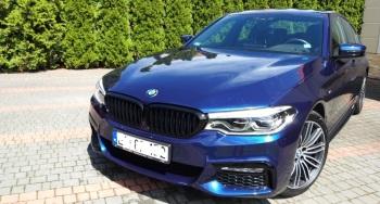BMW serii 5 540i G30 M Performance, Samochód, auto do ślubu, limuzyna Kutno