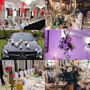 Piękne dekoracje na Twój wymarzony ślub, Dekoracje ślubne Ostrołęka