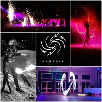 Phoenix Poi Group- pokaz ognia i światła| fireshow i lightshow, Teatr ognia Rydułtowy