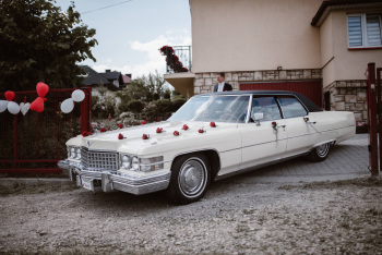 Cadillac Deville -  na Wasze Wesele!, Samochód, auto do ślubu, limuzyna Czchów