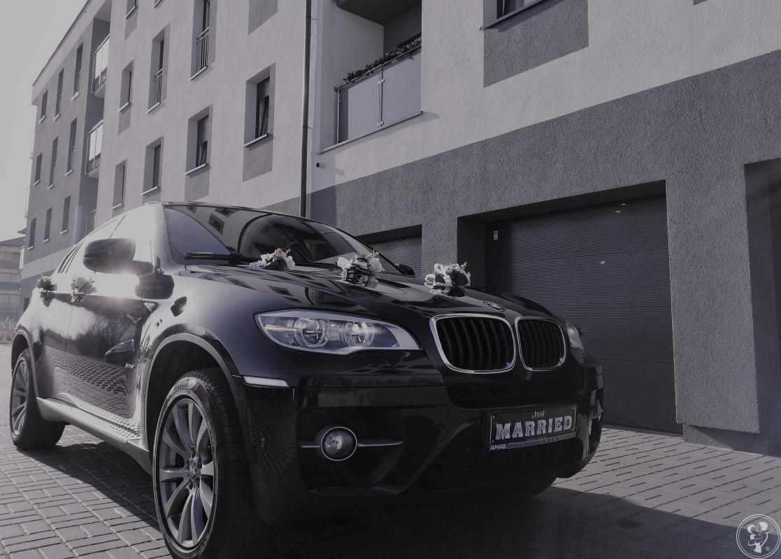 Auto do ślubu BMW X6 M-pakiet samochód ślubny limuzyna wesele, Rogoźno - zdjęcie 1