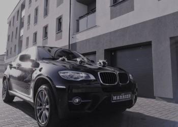 Auto do ślubu BMW X6 M-pakiet samochód ślubny limuzyna wesele, Samochód, auto do ślubu, limuzyna Wyrzysk