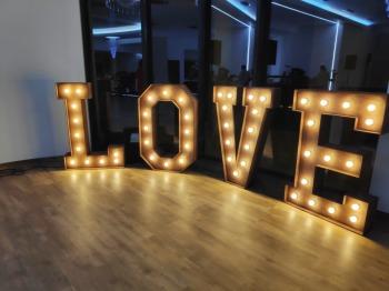 Napis LOVE, Napis Love Pilzno