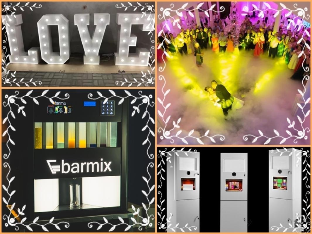 Barmix - automatyczny barman, drink bar, fotobudka, ciężki dym, LOVE, Błonie - zdjęcie 1