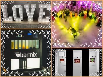 Barmix - automatyczny barman, drink bar, fotobudka, ciężki dym, LOVE, Barman na wesele Błonie