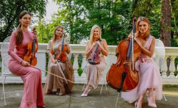Love and Music-najpiękniejsza muzyka na ślub KWARTET SMYCZKOWY , HARFA, Oprawa muzyczna ślubu Ostrołęka