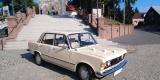 Auto do ślubu- Fiat 125p.  z 1976r., Poznań - zdjęcie 4