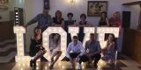 Napis LOVE   Ciężki dym   Dekoracja Światłem, Nowe Miasto-Folwark - zdjęcie 5