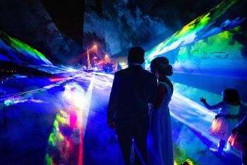 Pokaz laserowy na Waszym weselu , mega atrakcja - 5 laserów KVANT, Pokazy laserowe Stalowa Wola