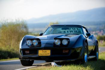 Corvette samochód do ślubu, Samochód, auto do ślubu, limuzyna Zator