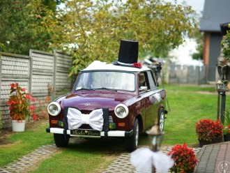 Auto do ślubu w stylu retro,  Mielec