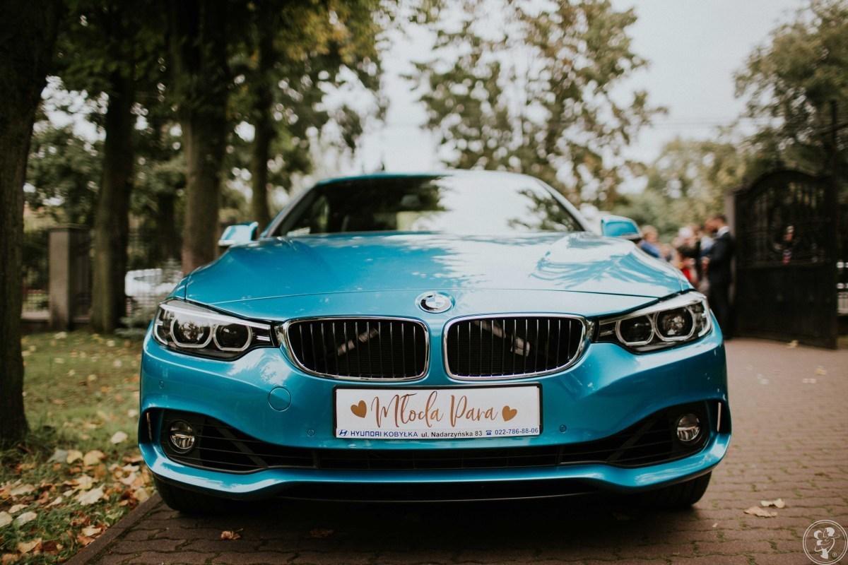 Piękne auta do ślubu: Kabriolet BMW 4,  BMW 3, BMW x1, Mazda 6, Zielonka - zdjęcie 1