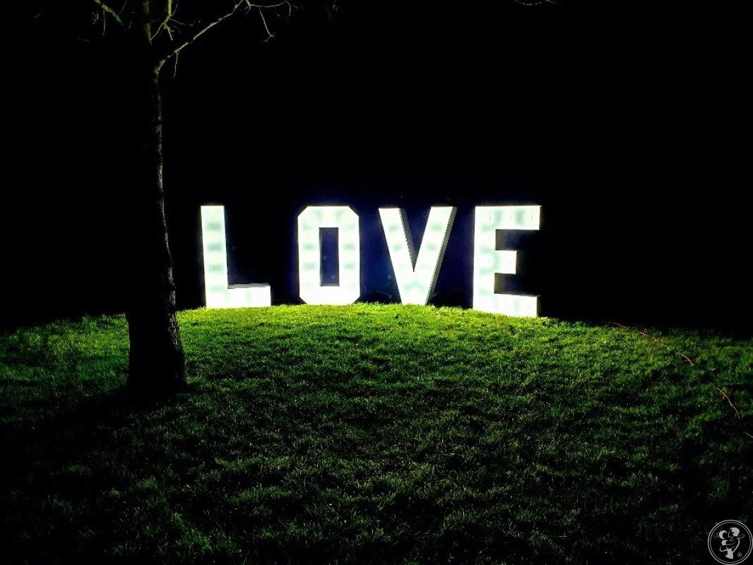 LOVE Napis 3D LED - White Weddnig, Swarzędz - zdjęcie 1