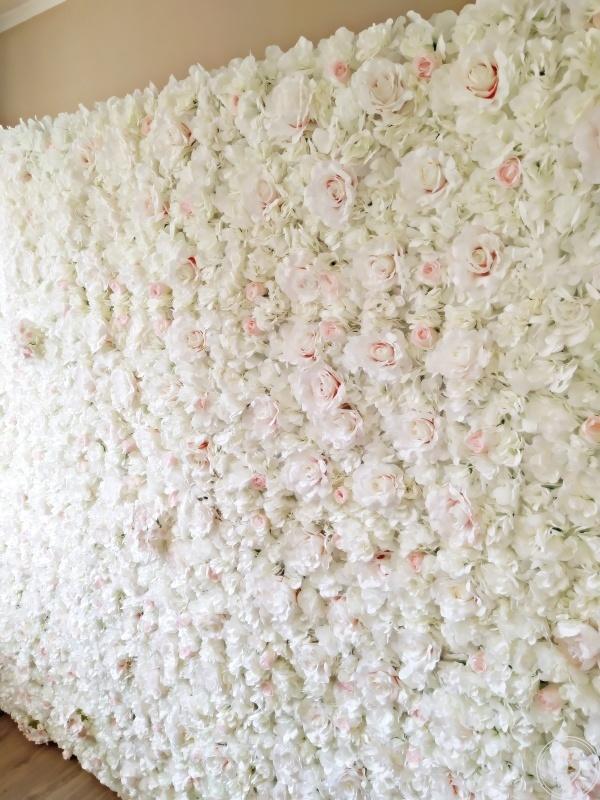 Ścianka kwiatowa / ślubna, Bydgoszcz - zdjęcie 1