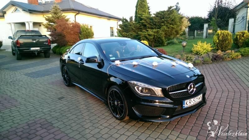 Mercedes CLA AMG wynajem auto na ślub, Kraków - zdjęcie 1