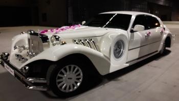 Auta do ślubu  NESTOR BARON & LINCOLN EXCALIBUR, Samochód, auto do ślubu, limuzyna Toszek