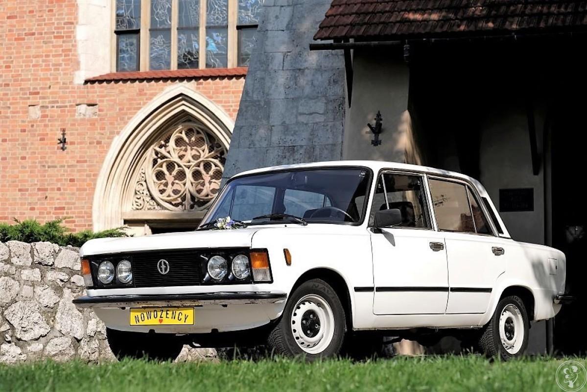 Zabytkowy FIAT 125p - retro klask, Kraków - zdjęcie 1