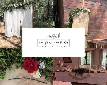 MforMatild Weddings - wyjątkowa oprawa wyjątkowego dnia, Dekoracje ślubne Czeladź
