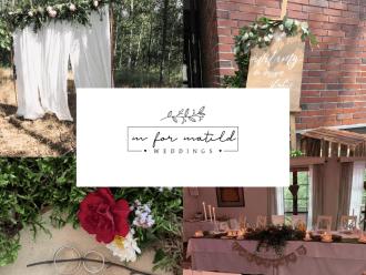 MforMatild Weddings - wyjątkowa oprawa wyjątkowego dnia,  Czeladź