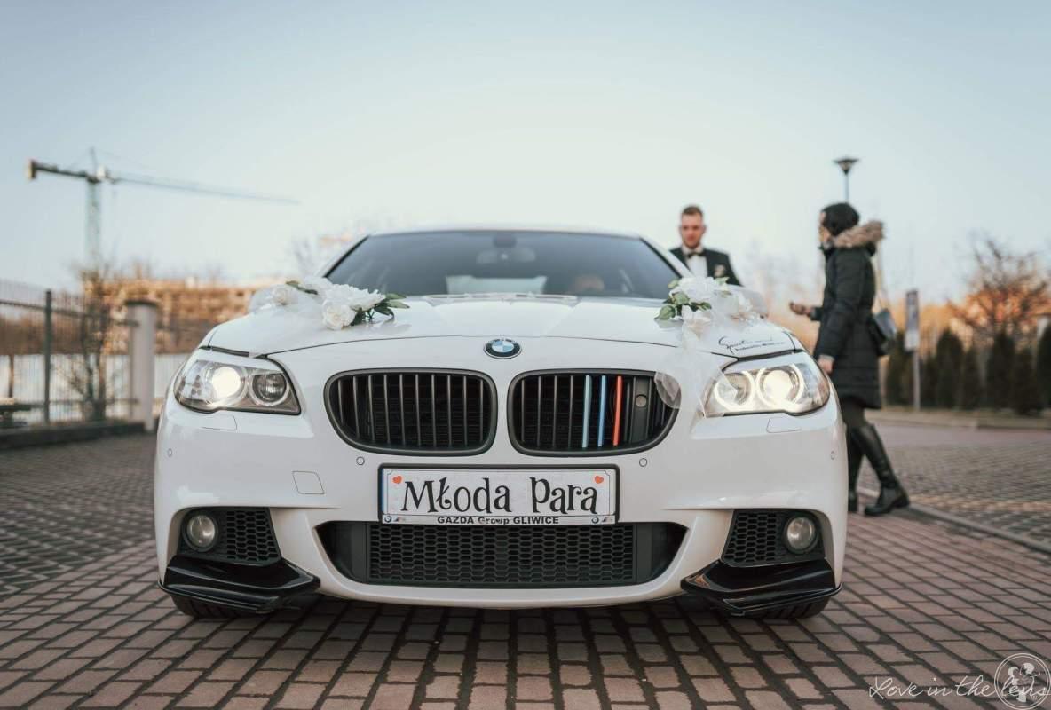 Samochód do ślubu BMW F10 m pakiet, auto, limuzyna do ślubu, Kraków - zdjęcie 1