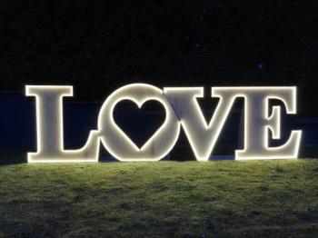 Napisy drewniane LOVE, Napis Love Elbląg
