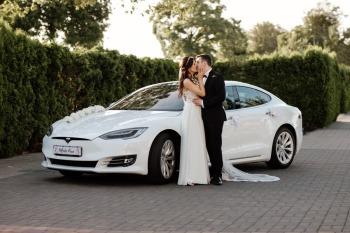 Tesla Do Ślubu    100% elektryczna, Samochód, auto do ślubu, limuzyna Radomsko
