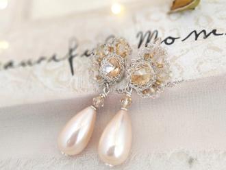Koronki iwogg misterna koronkowa biżuteria ślubna, Obrączki ślubne, biżuteria Tarnowskie Góry