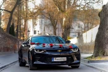 Ford Mustang, Chevrolet Camaro V8 454 KM, Jaguar Fpace -sam kierujesz!, Samochód, auto do ślubu, limuzyna Tuchów