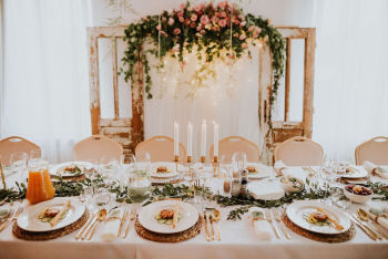 About That Day - florystyka okolicznościowa | wypożyczalnia dekoracji, Dekoracje ślubne Baranów Sandomierski