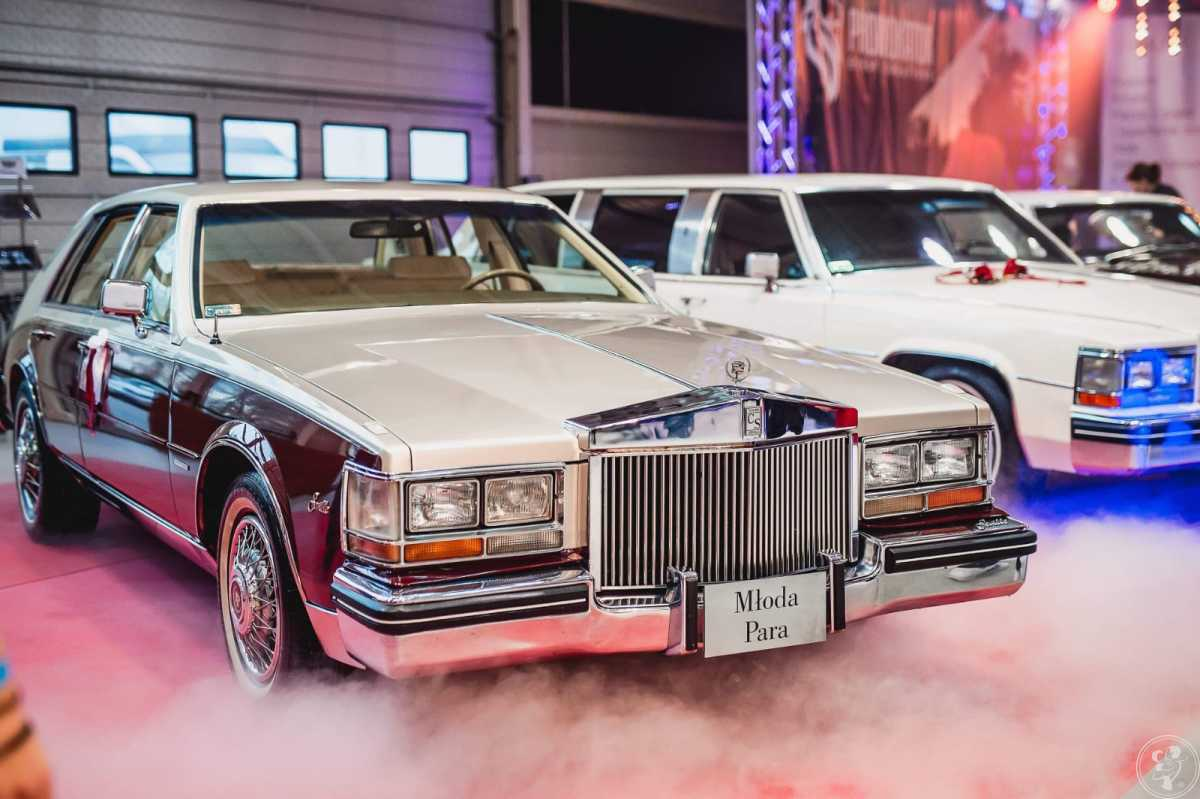 Cadillac, klasyk do ślubu limuzyna samochód do ślubu na wesele, Lublin - zdjęcie 1