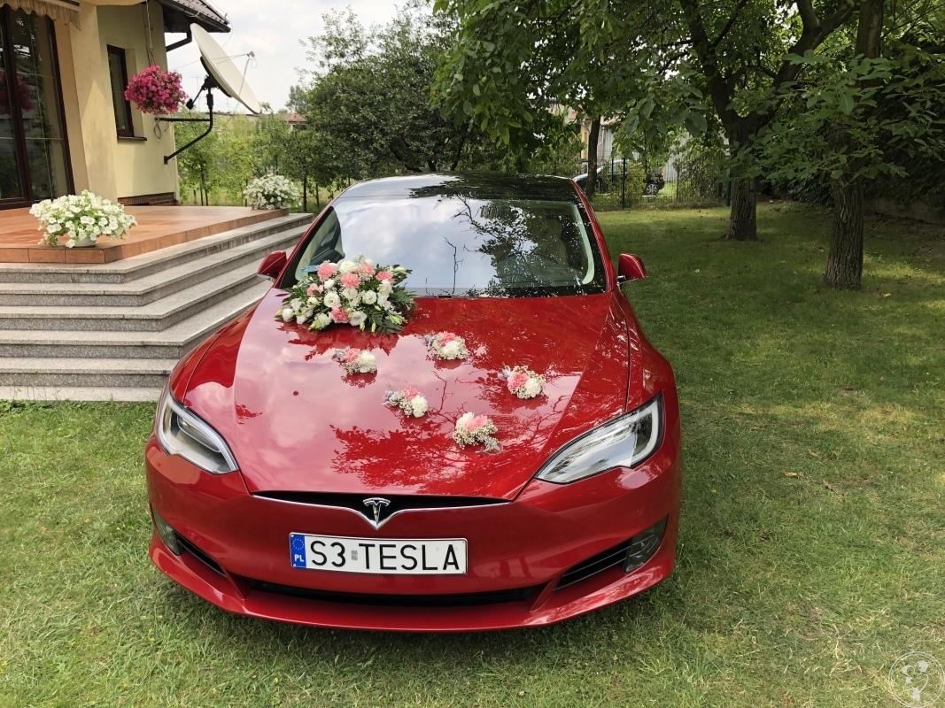 TESLA Model S WYNAJEM DO ŚLUBU/WESELA, WOLNE TERMINY NA 2020, Oświęcim - zdjęcie 1