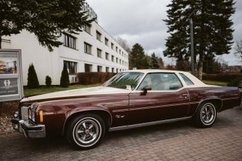 Amerykański klasyk do ślubu - Pontiac Grand Prix, Samochód, auto do ślubu, limuzyna Iława