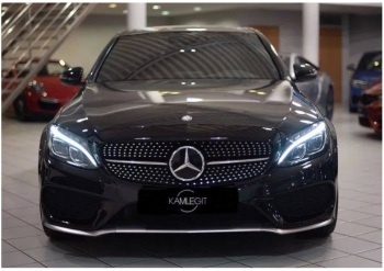 Czarny Mercedes AMG – Limuzyna / Biały Mercedes AMG – SUW, Samochód, auto do ślubu, limuzyna Tarnobrzeg