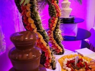Fontanna czekolady i palma owocowa,  Wałbrzych