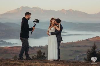 ❤️🎥 Nowoczesne filmy ślubne, piękne plenery, świetne ujęcia z drona, Kamerzysta na wesele Czechowice-Dziedzice