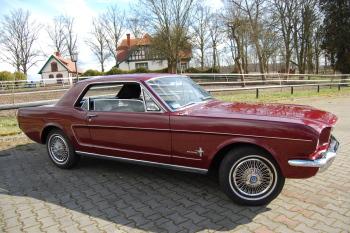 Auto do ślubu MUSTANG z 1966 r zabytek klasyk. wolne terminy 2020 r., Samochód, auto do ślubu, limuzyna Pniewy