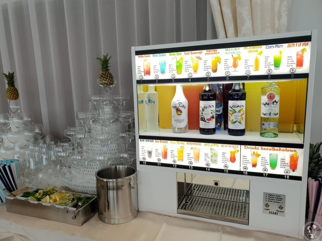 Automatyczny barman, Automat do robienia drinków., Szczecin - zdjęcie 1