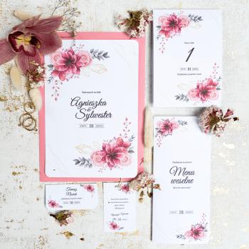 Zaproszenie ślubne - zaproszenia na ślub tadamart, Zaproszenia ślubne Kożuchów