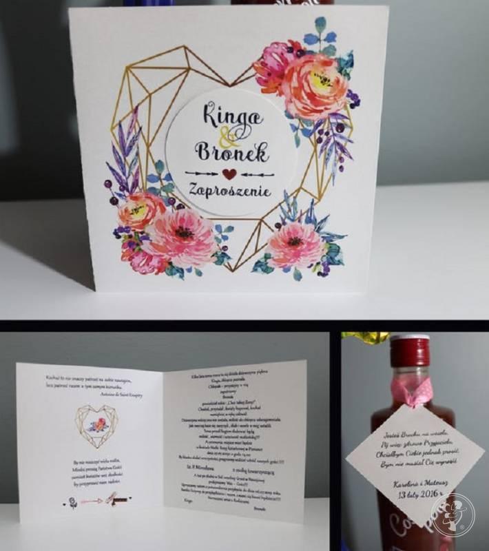 Dekoracje Ślubne Zaproszenia Winietki Zawieszki Me, Nowy Sącz - zdjęcie 1