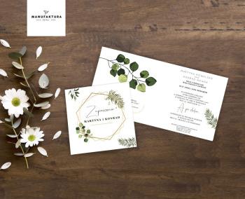 Przepiękne zaproszenia ślubne boho, rustykalne, glamour oraz klasyczne, Zaproszenia ślubne Piaseczno