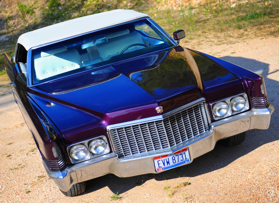 💜 CADILLAC Kabrio do ślubu z 1969-Król amerykańskiej motoryzacj 💜, Kłodzko - zdjęcie 1