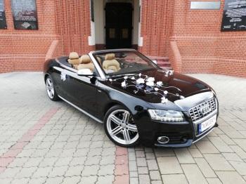 Samochód do ślubu Auto do Ślubu Cabriolet Audi S5, Samochód, auto do ślubu, limuzyna Dąbrowa Górnicza