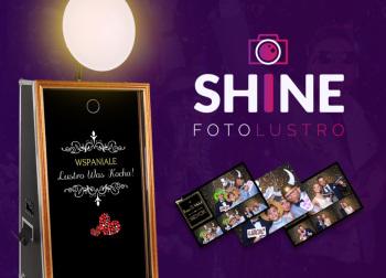 Fotolustro SHINE, Fotobudka, videobudka na wesele Błażowa