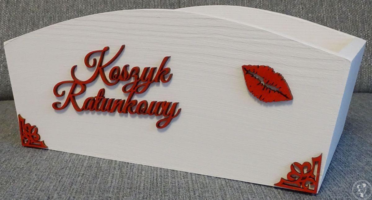 Koszyki ratunkowe - zestaw dwóch skrzynek / koszyków na wesele, Warszawa - zdjęcie 1