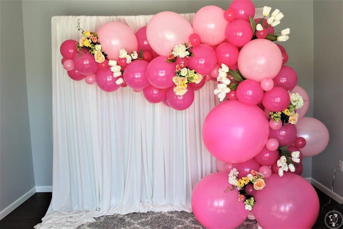 Oryginalne dekoracje balonowe, nowość, atrakcje, girlandy, łuk, balony, Stalowa Wola - zdjęcie 1