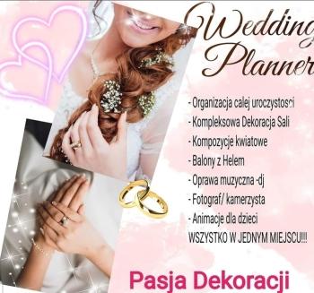 PASJA DEKORACJI - Pelna Organizacja i Dekoracja Ślubu i Wesela, Dekoracje ślubne Mirsk