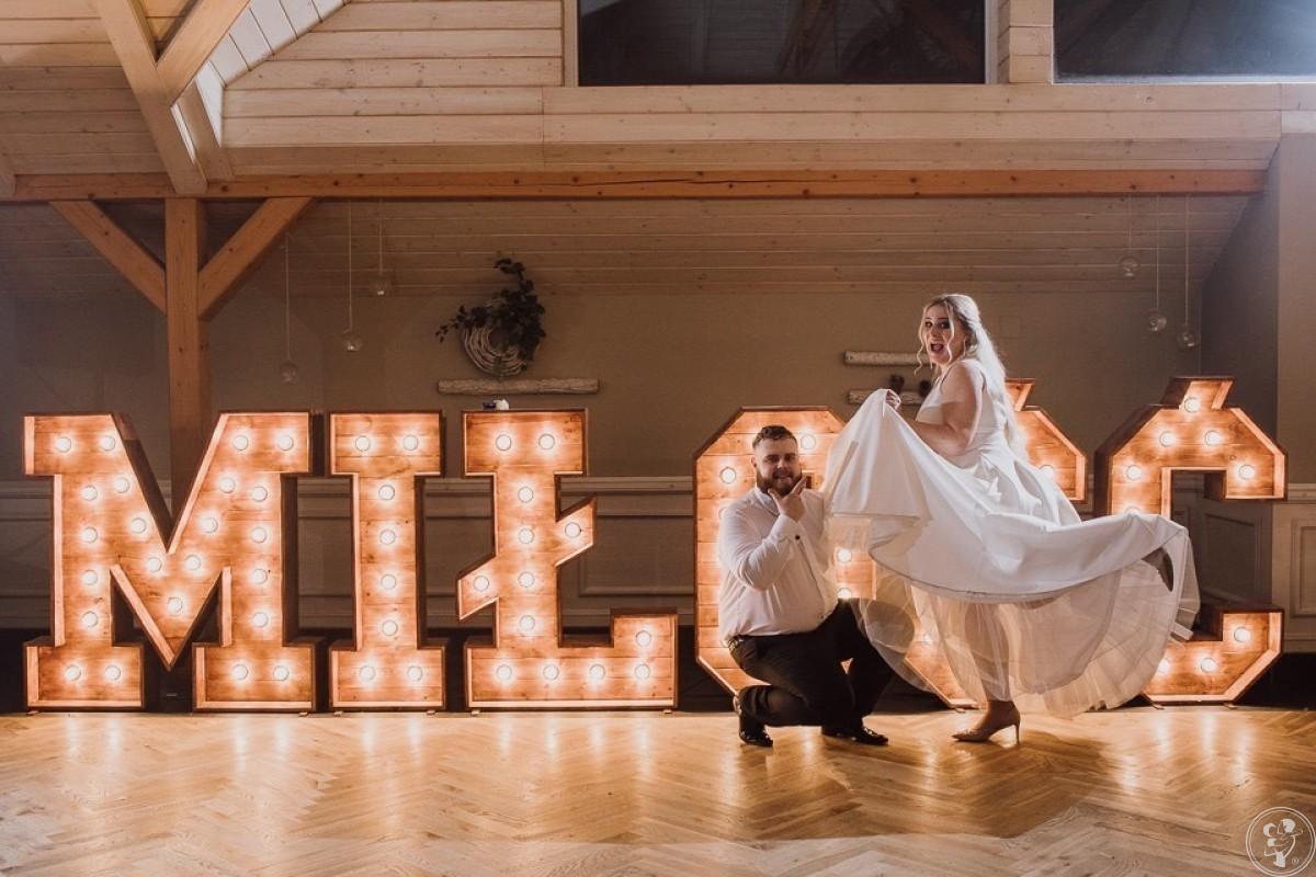 Napis Miłość drewniany, Napis love z drewna i kwiatowy, ścianki, Pszczyna - zdjęcie 1